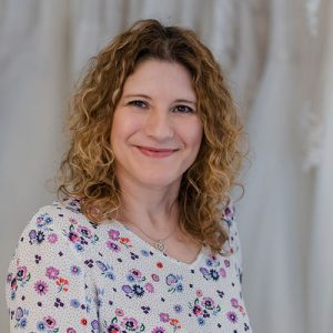 Sandra Hübner von der Graf-Recke-Stiftung